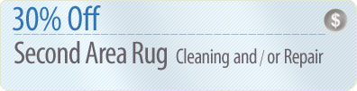 Cleaning Coupons | 30% off second rug cleaning or repair | Long Island Rug Cleaners